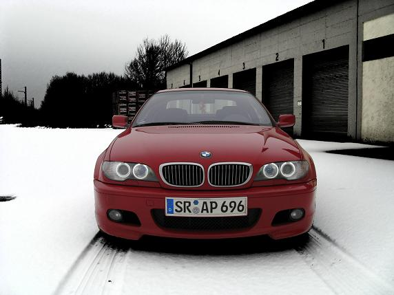 Pic Request Red E46 Coupe Facelift Front View